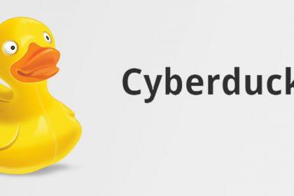 Descarregar i configurar Cyberduck