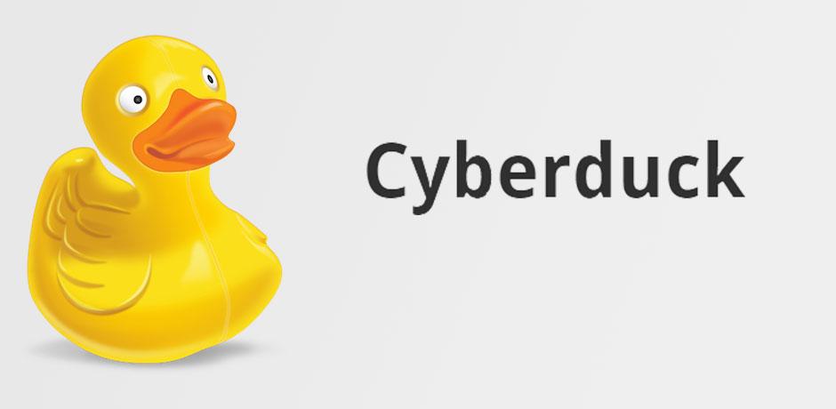 Descargar y configurar Cyberduck