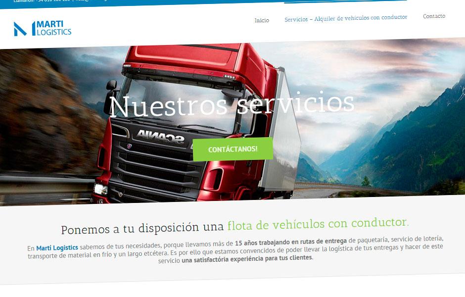Martí Logistics Alquiler de vehiculos con conductor | bcnwebteam.com