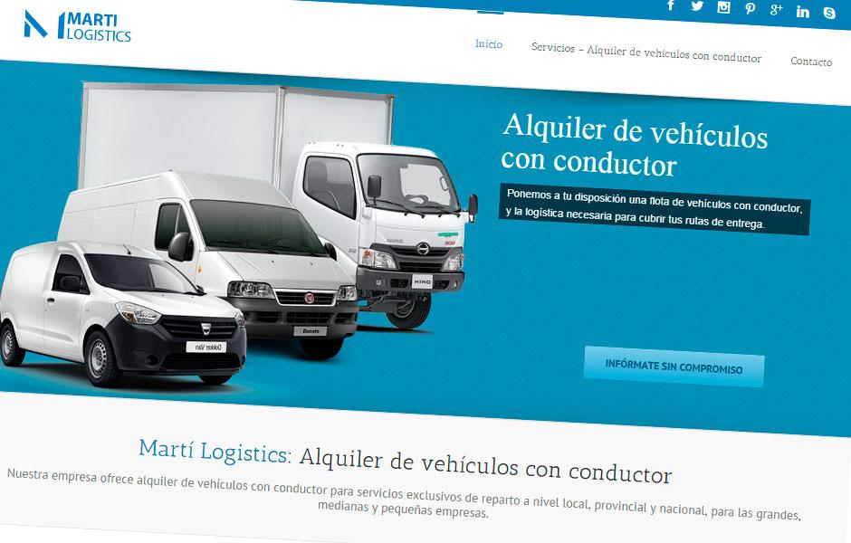 Marti Logistics | bcnwebteam.com