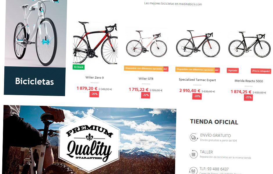 Medina Bicis Home | bcnwebteam.com