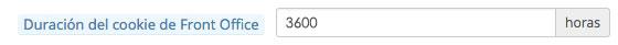 Cómo alargar tiempo sesión Prestashop configuración 3600 | bcnwebteam