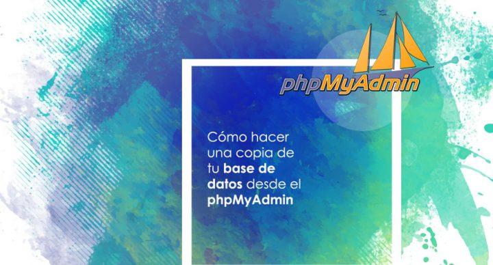 Cómo hacer una copia de seguridad de nuestra base de datos desde phpmyadmin front | bcnwebteam