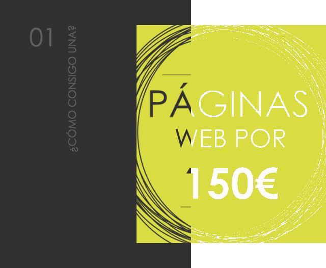 Pàgines web per tan sols 150€ | bcnwebteam
