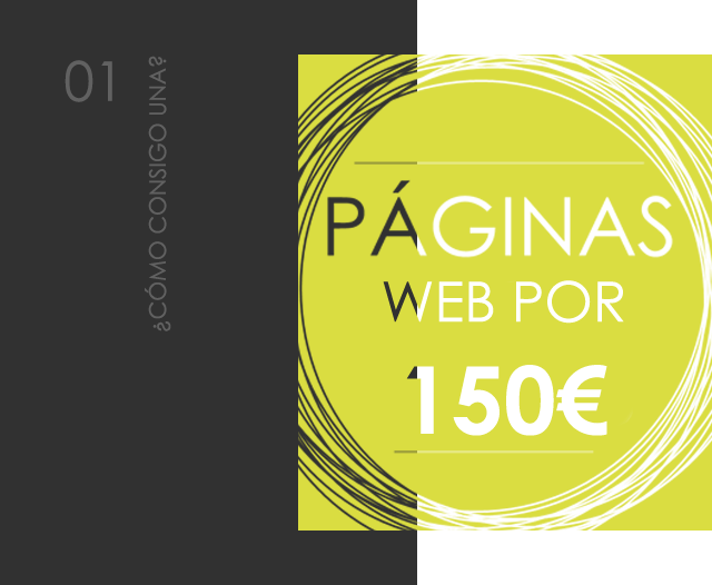 Cómo consigo una web por 150€ | bcnwebteam