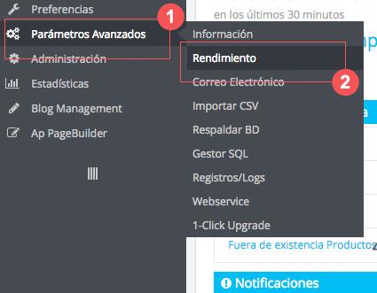 Cómo mejorar el tiempo de carga de Prestashop - paso 1 | bcnwebteam